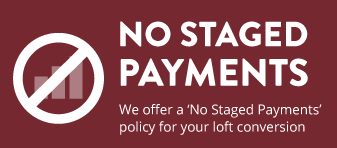 No Staged Payments